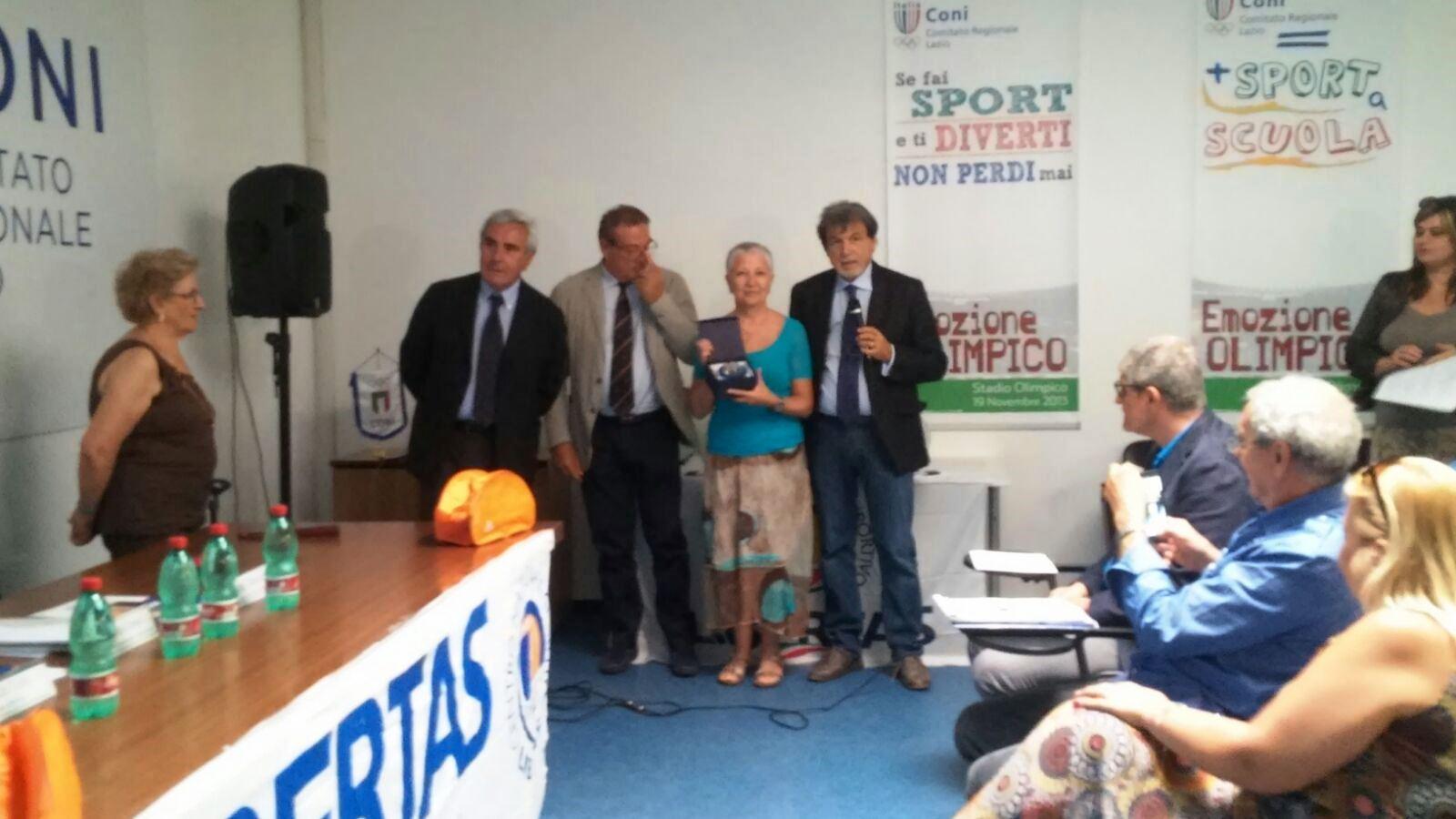N. 1 La Premiazione Di Anna Rosa Gravina Molina