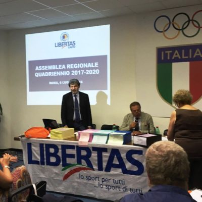 Enzo Corso Confermato Presidente Del Centro Regionale Libertas Del Lazio Per Il Prossimo Quadriennio