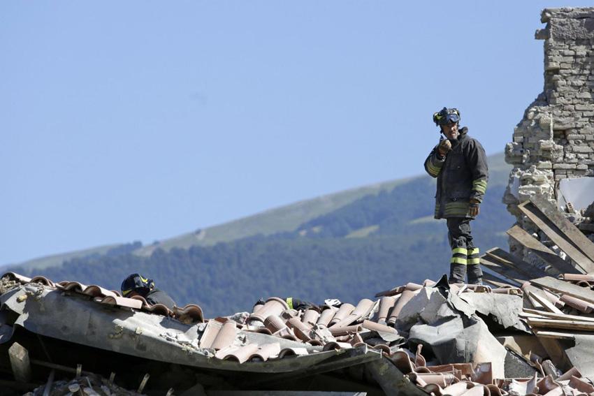 Terremoto In Centro Italia: Solidarietà Dalla Libertas Alle Popolazioni Colpite Dal Sisma Nell'agosto 2016