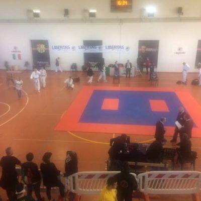 Al Palatorrino Di Roma Il Trofeo Interregionale Karate Libertas Per Una Giornata Di Sport E Divertimento