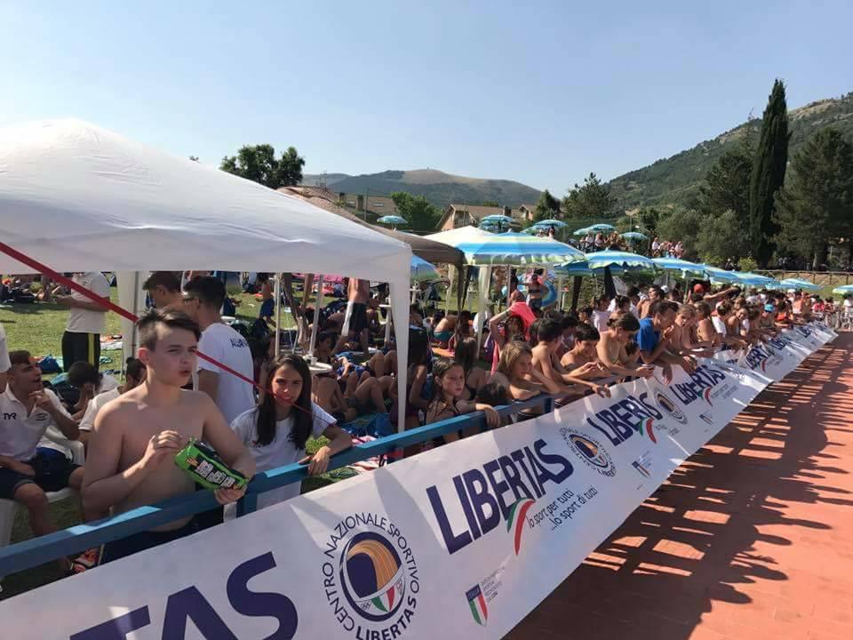 Alcuni Momenti Del Campionato Nazionale Di Nuoto Targato Cns Libertas.