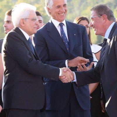 La Storica Visita Del Presidente Sergio Mattarella Presso La Sede Del CONI; La Libertas Presente All'evento