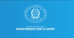 Emergenza Covid-19: Le FAQ Del Dipartimento Per Lo Sport