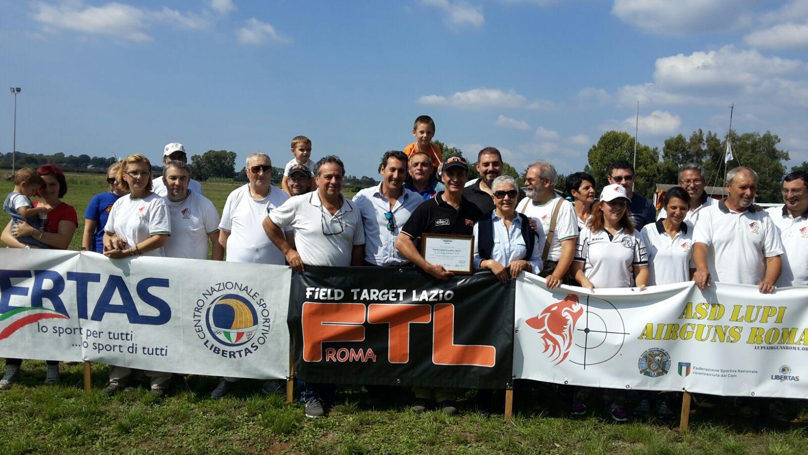 A Pontinia – Latina – Si Va In Scena Con Il Field Target. Il Trofeo Dedicato Al Nostro Caro Rino Molina
