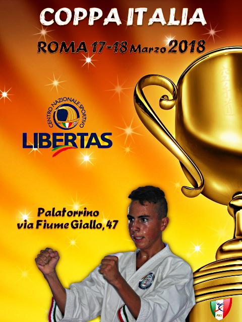 Karate, Al Via La Coppa Italia Libertas Il 17 E Il 18 Marzo Al Palatorrino Di Roma